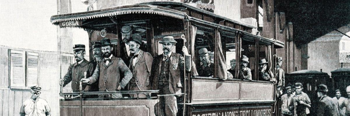 Milano e il trasporto urbano: storia e foto