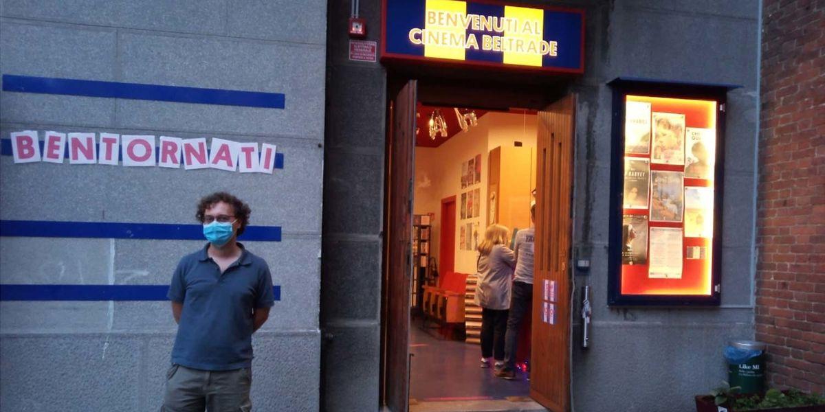 """Ciak, si riparte: la Fase 3 nel """"primo"""" giorno del cinema Beltrade di Milano"""