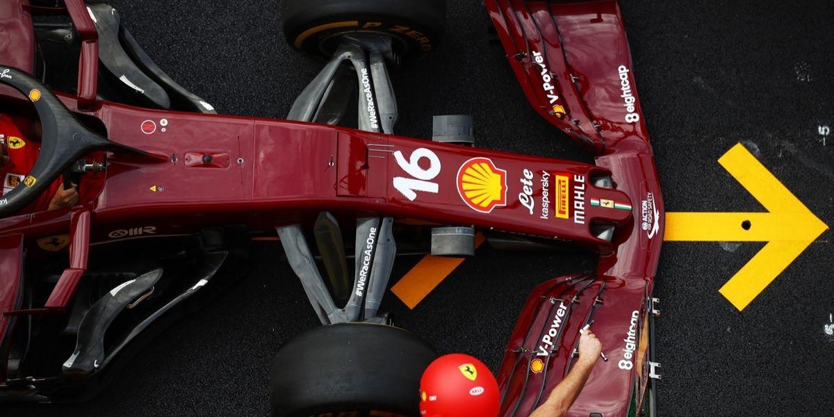 Formula 1: le Ferrari si vestono di amaranto al Mugello - FOTO