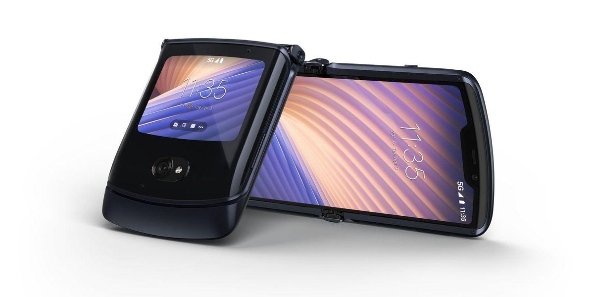 Il Motorola razr ora è anche 5G