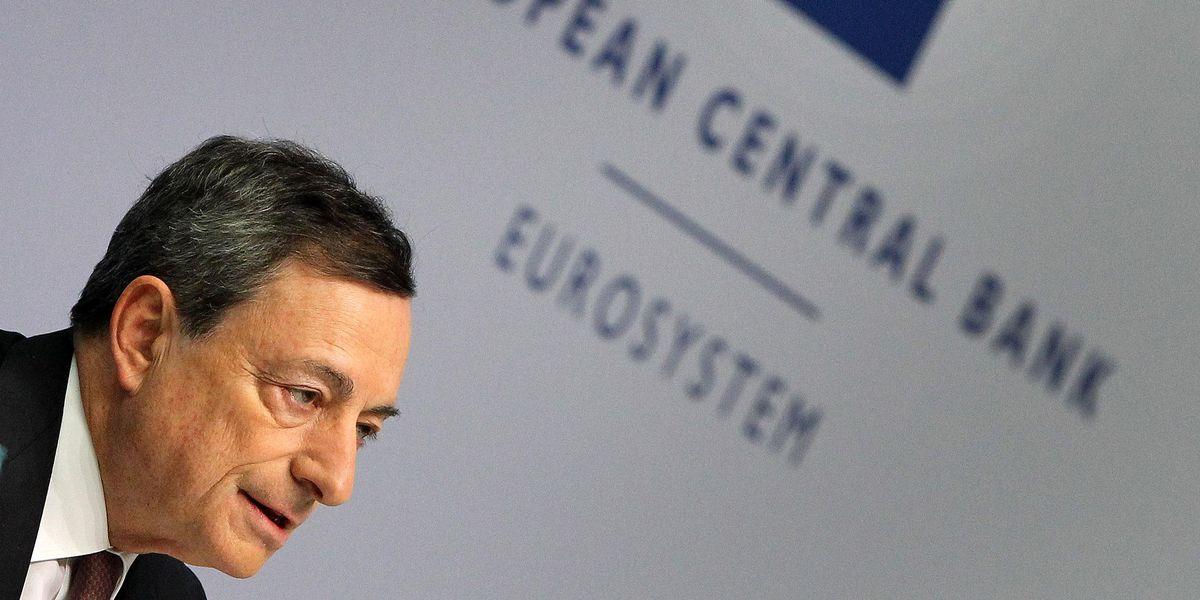 Draghi bce.