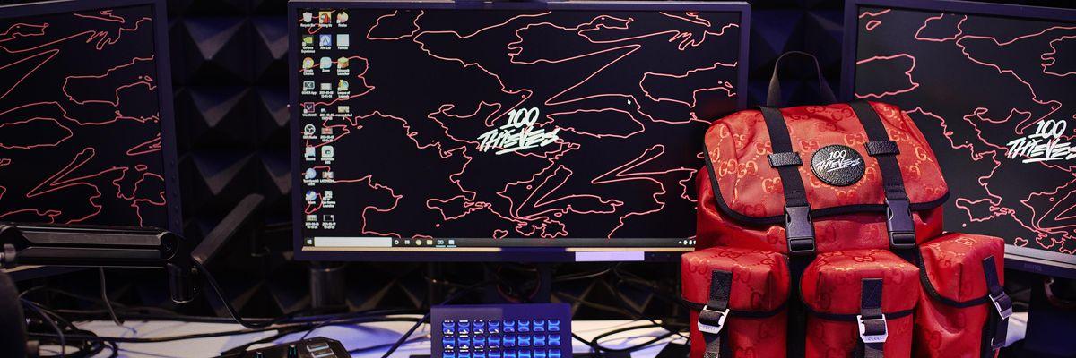 Gucci punta ancora sul gaming e sigla una collaborazione con 100 Thieves