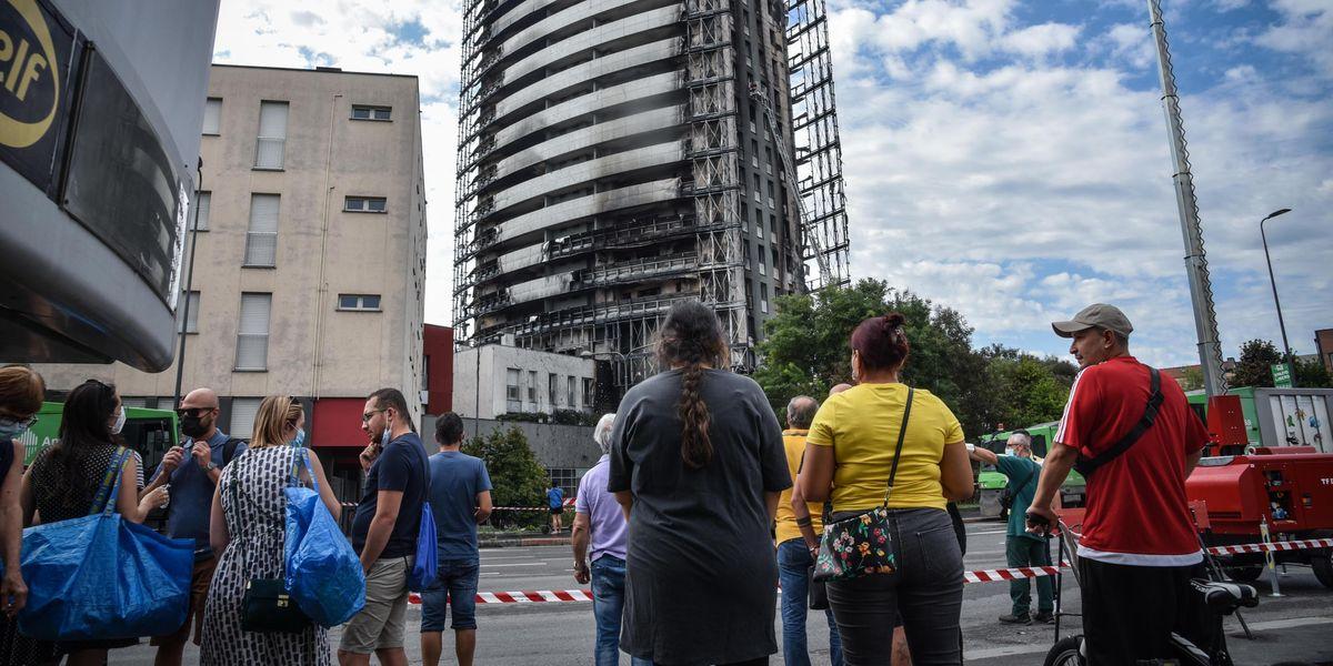 L'incendio di Torre dei Moro e il boom richieste dei materiali del bonus 110%