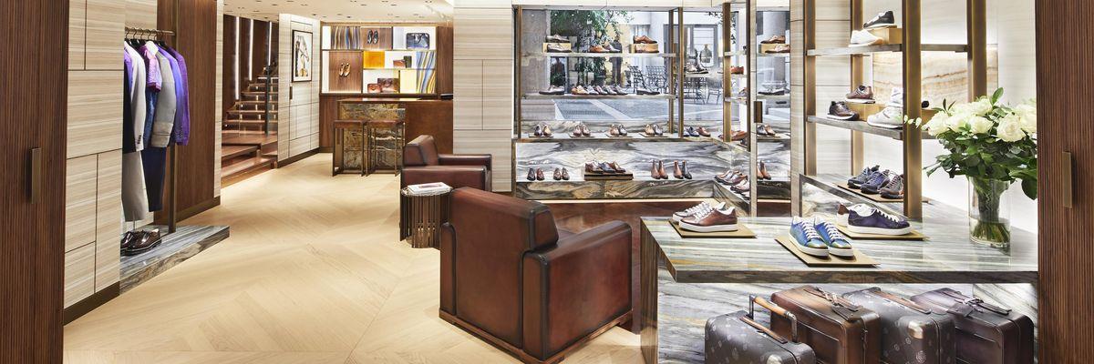 Berluti apre un nuovo negozio in Montenapoleone