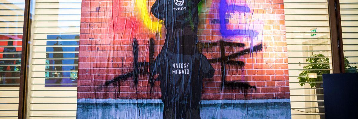 Antony Morato e TvBoy, insieme per una collezione pop-fashion