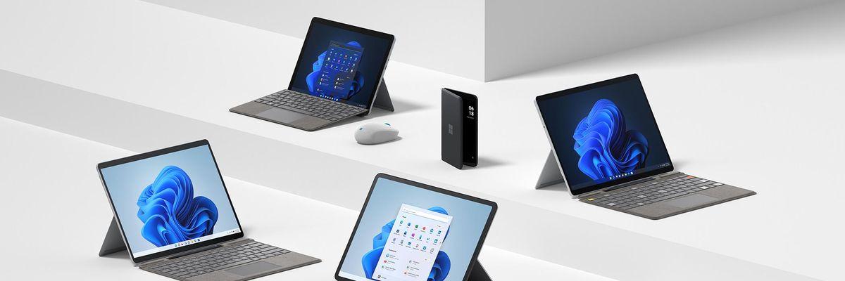 Una famiglia di Surface per spingere Windows 11