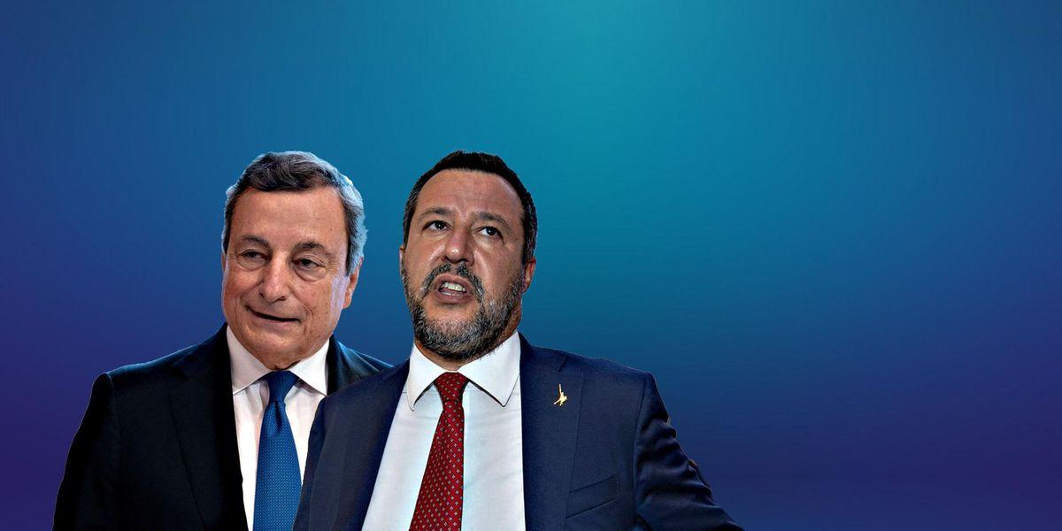 Draghi fa la riforma del catasto senza la Lega