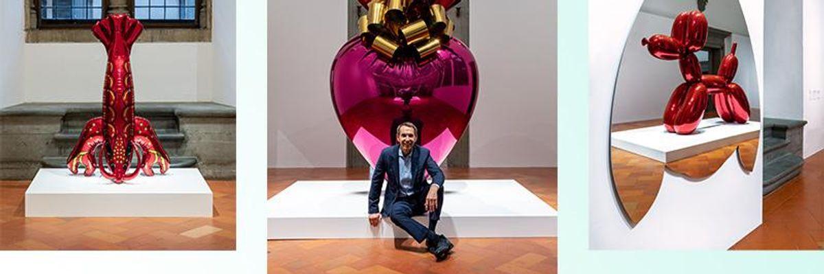 «Jeff Koons. Shine». La mostra al Palazzo Strozzi di Firenze
