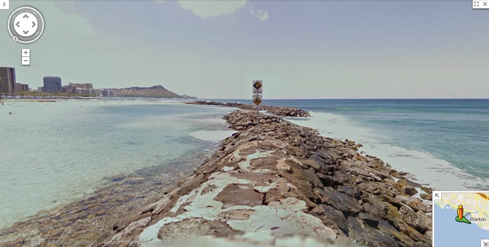 Google Maps: 7 luoghi incredibili da vedere con Street View