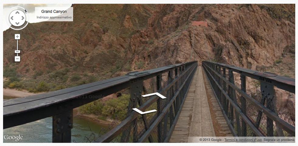 Google street view: alla scoperta del Grand Canyon