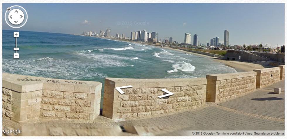 Google Street View: la bellezza d'Israele