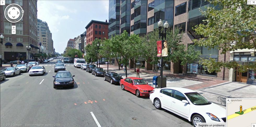 Google Street View: le strade di Boston
