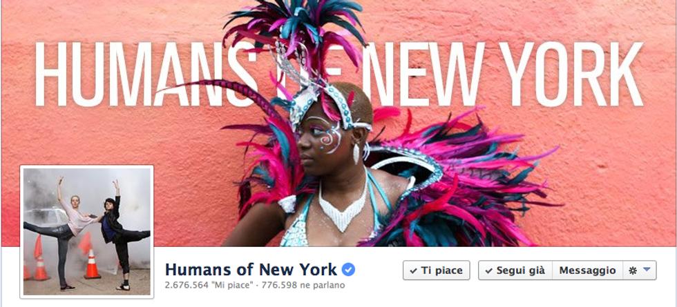 I gruppi più belli di Facebook: Humans of New York