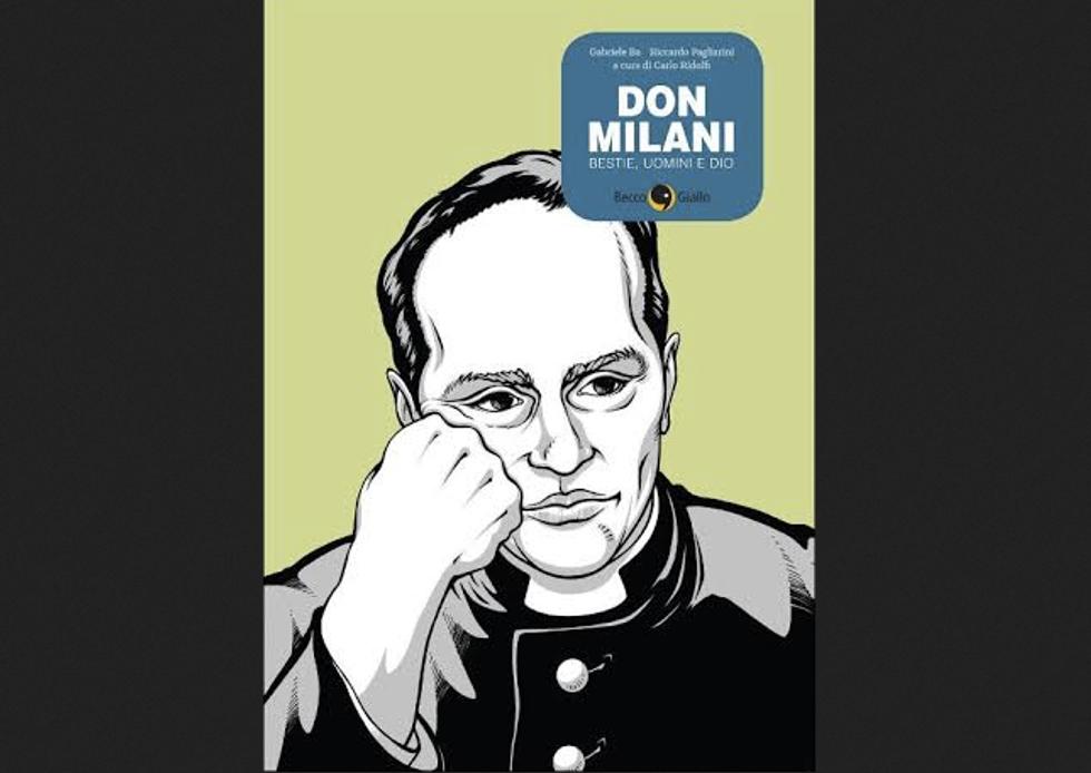 Don Milani: arriva la biografia a fumetti
