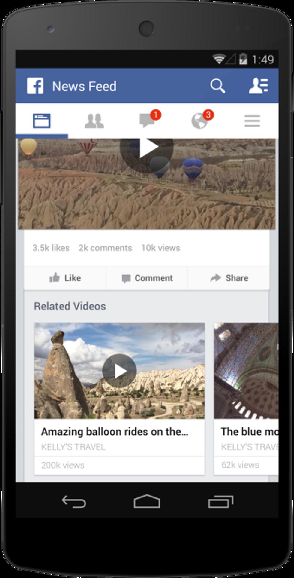 Ecco perché Facebook non può fare a meno dell'autoplay