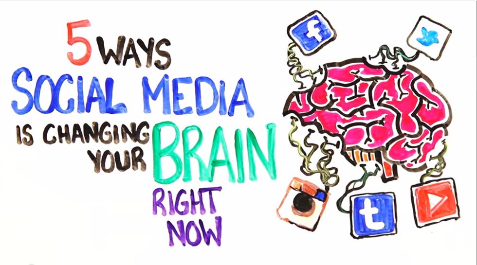 Facebook: ecco come ti cambia il cervello