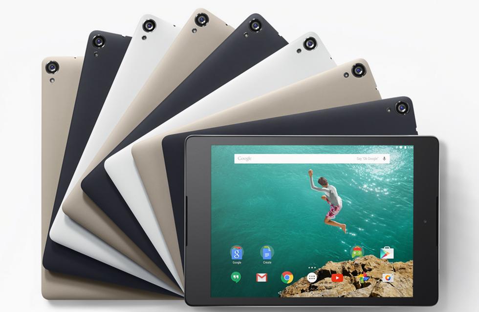 Nexus 9 da oggi in Italia