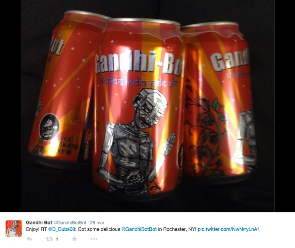 Gandhi-Bot: la birra americana che fa arrabbiare l'India