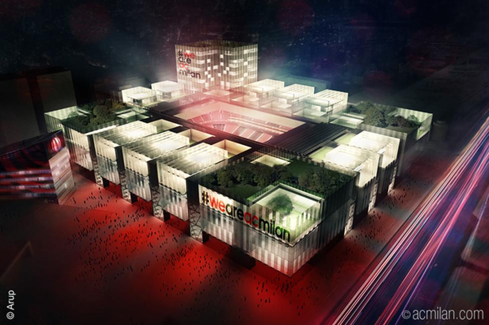 Ecco il nuovo stadio del Milan
