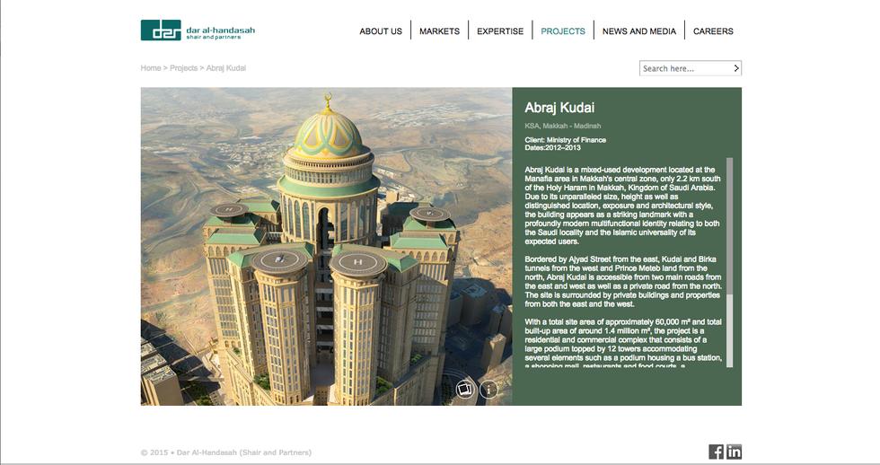L'albergo più grande del mondo fa ombra alla Mecca