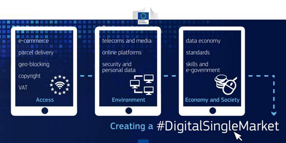 European Commission's new strategy for the Digital Single Market