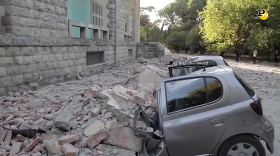 Terremoto in Albania: numerosi i crolli e i feriti