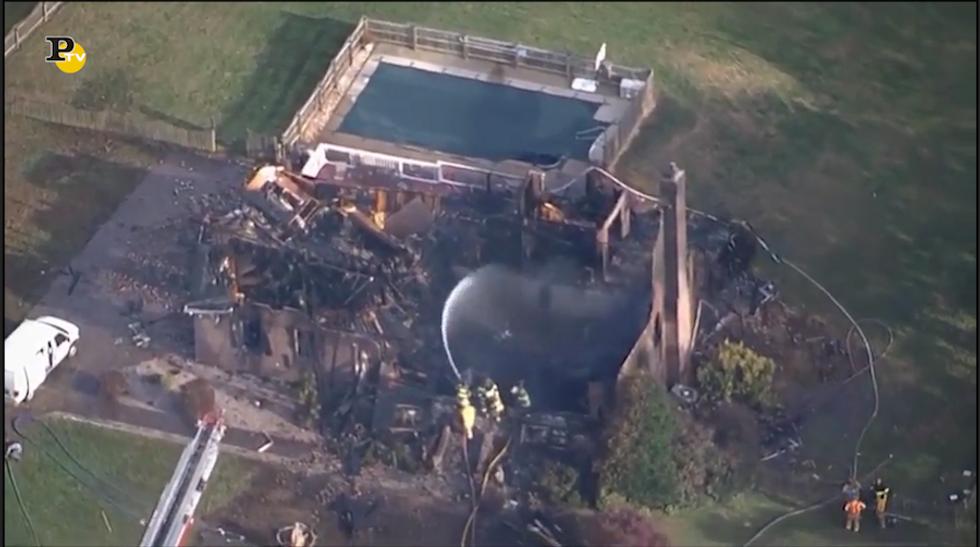 Esplosione di una casa in Virginia