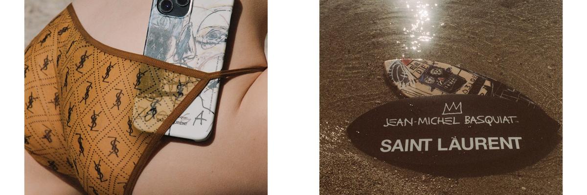 Saint Laurent firma una collezione speciale dedicata a Basquiat