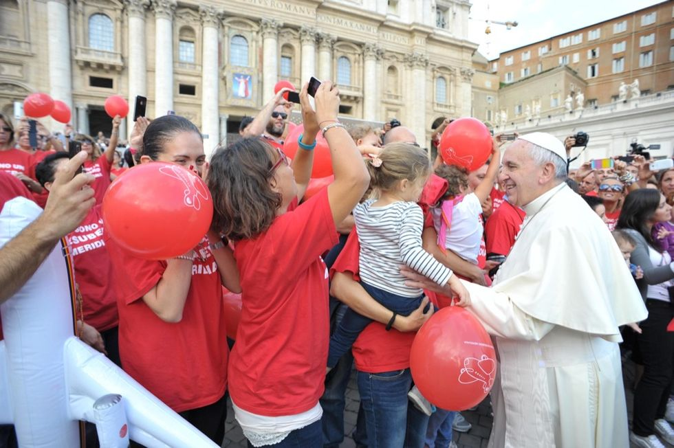 Meridiana, l'appello di Papa Francesco