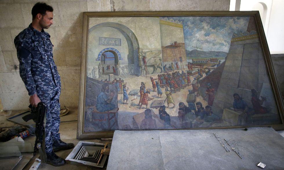 Iraq museo Mosul