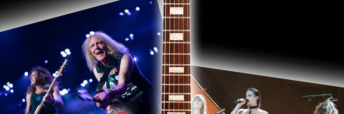 Iron Maiden Måneskin