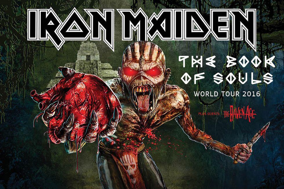 Iron Maiden live a Milano, Roma e Trieste - Le 10 canzoni più belle