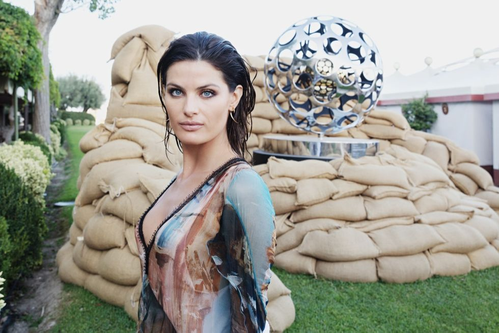 isabelli fontana Gianfranco Meggiato 74th film festival