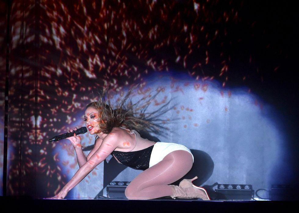 Jennifer Lopez, crema di diamanti contro la cellulite