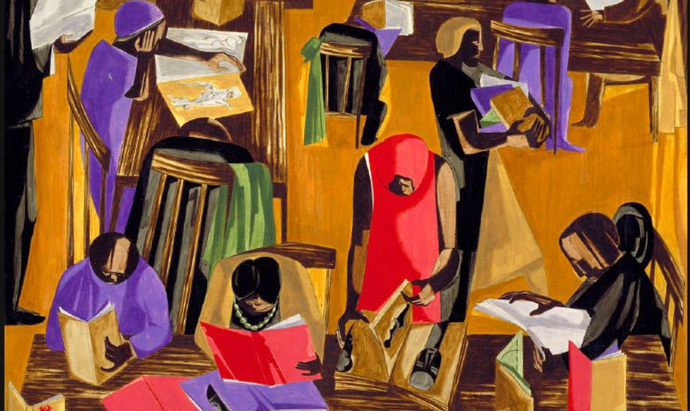 wikiart-lawrence-library