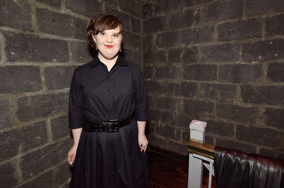 Jamie Brewer, la prima volta di una ragazza Down alla New York Fashion Week