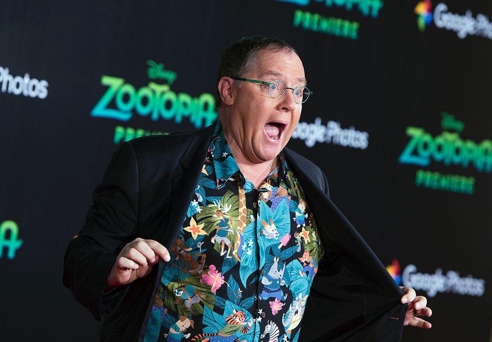 John Lasseter alla premiere di Zootopia