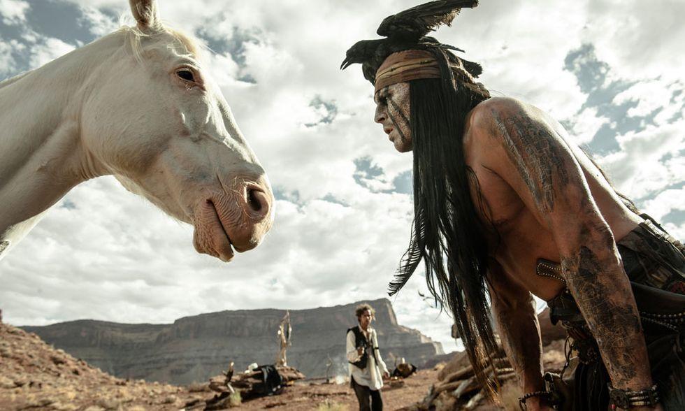 The Lone Ranger, il western con Johnny Depp: 5 cose da sapere
