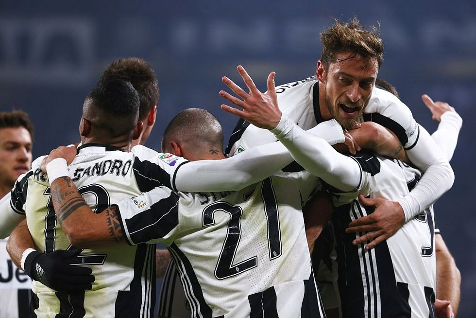 Juventus Roma 1-0 scudetto Allegri Higuain