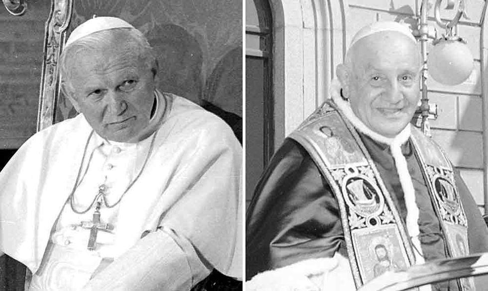 Wojtyla e Roncalli santi il 27 aprile 2014