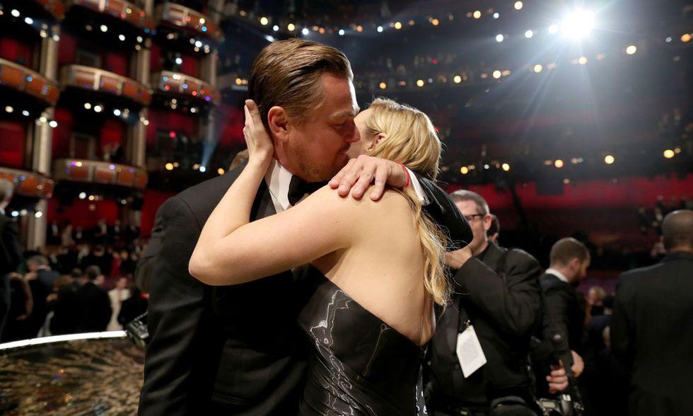 Kate Winslet e Leonardo DiCaprio