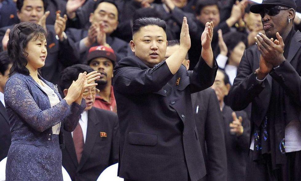 La diplomazia del Basket con Kim Jong- Un