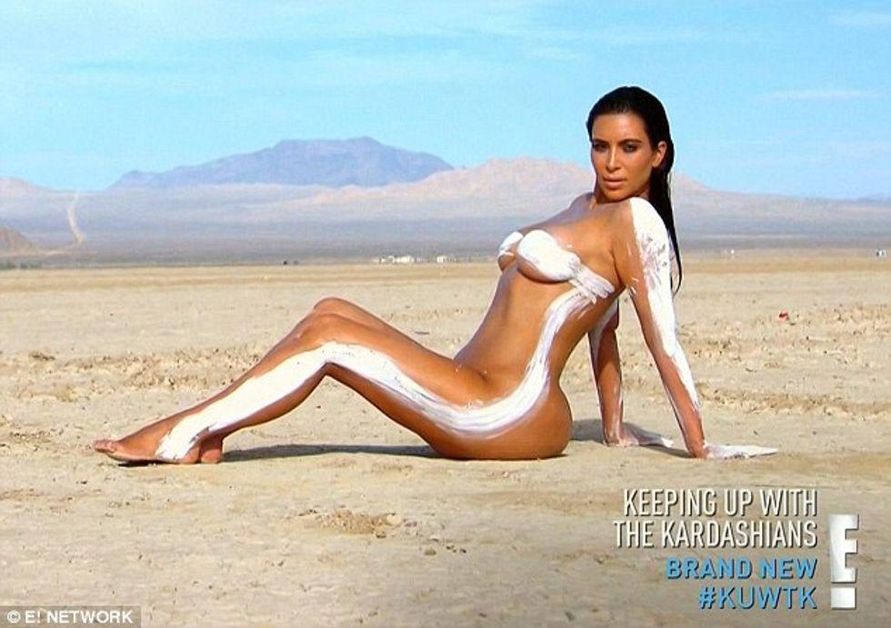 """Kim Kardashian, un nuovo nudo. Ma per """"combattere"""" malattia e insicurezza"""