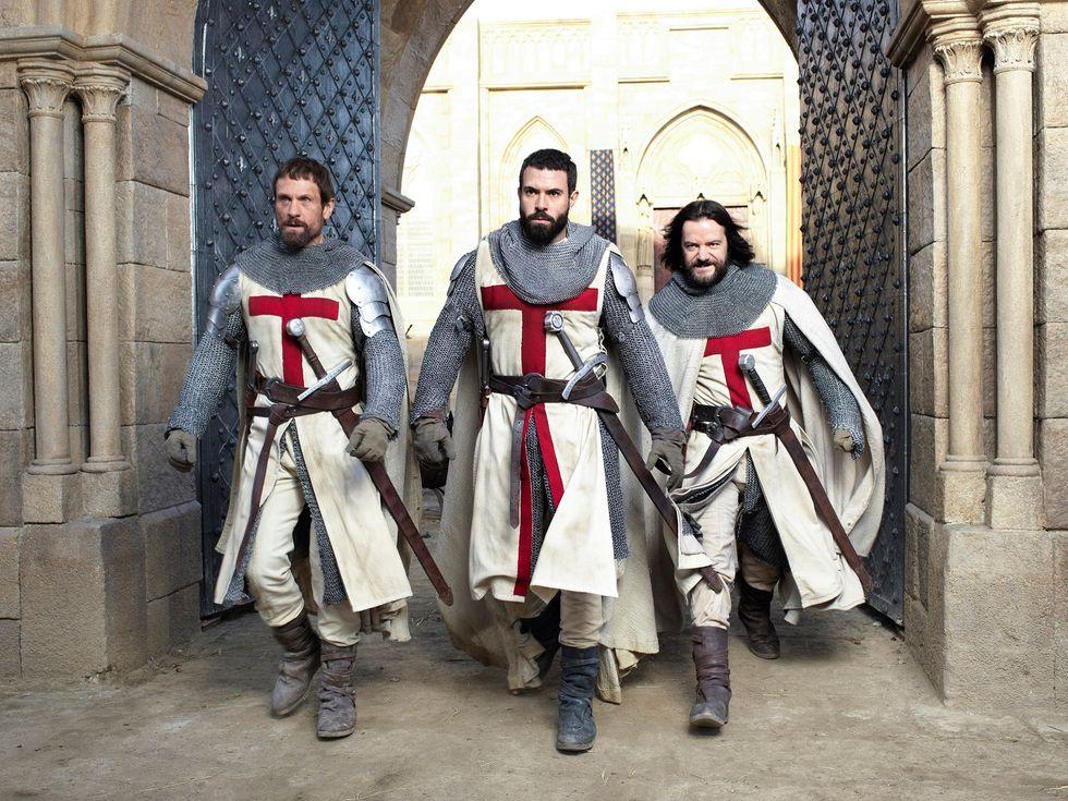 Knightfall: la serie tv sui Cavalieri Templari. Foto e trailer