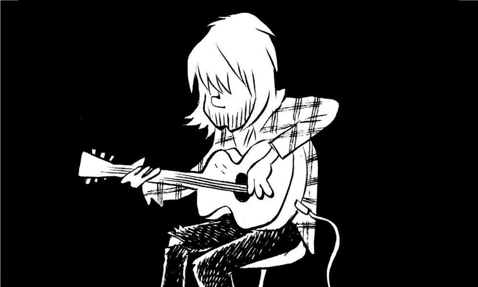'Nevermind': un ritratto a fumetti di Kurt Cobain