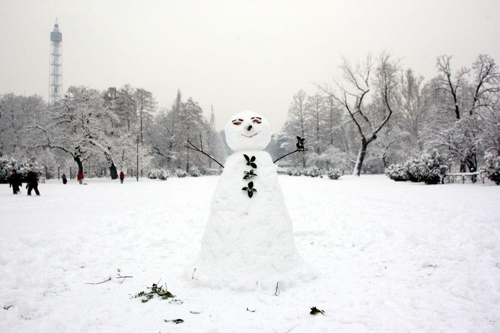 Milano, e la neve di 30 anni fa