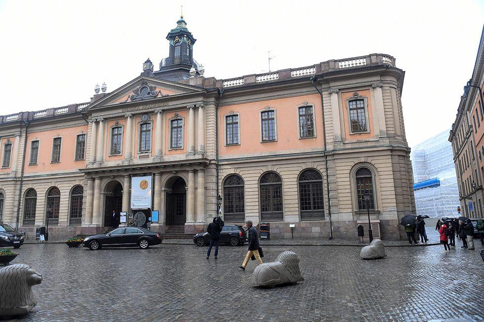 L'Accademia di Svezia a Stoccolma