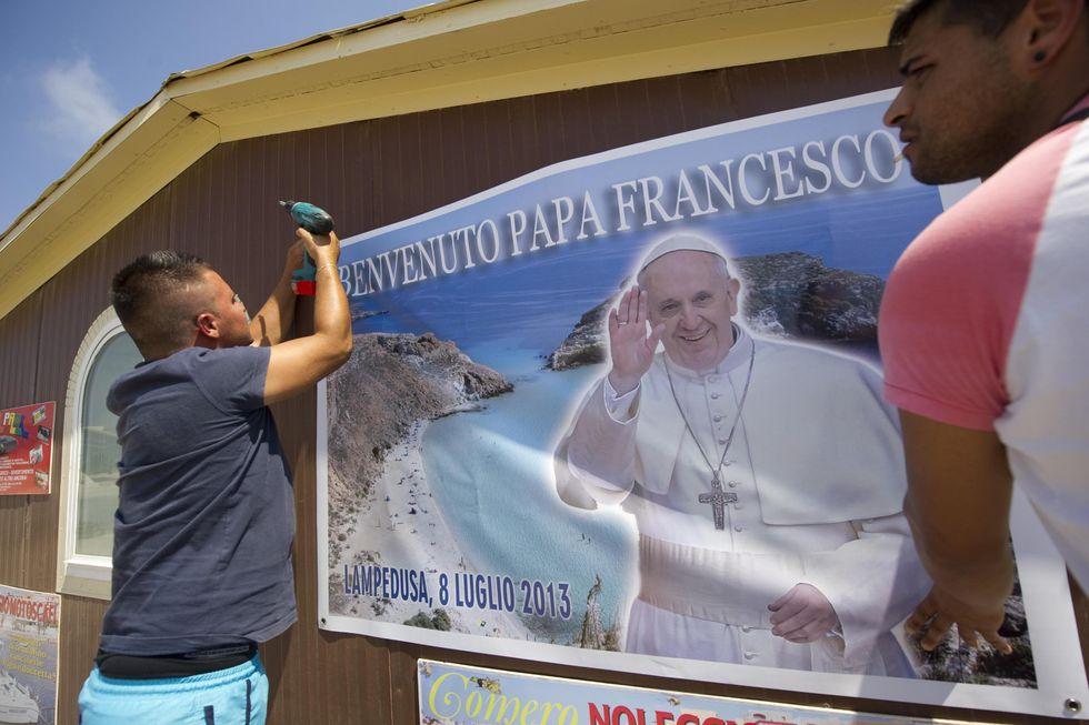 """""""Papa Francesco, sei il nostro idolo"""""""