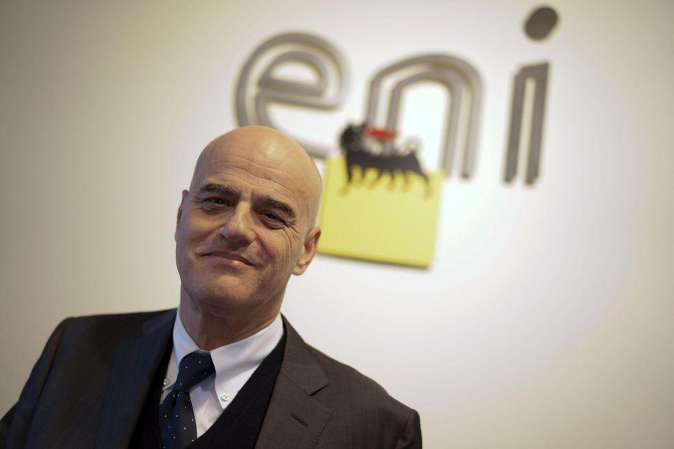 """Descalzi: """"Gas in Egitto, ma l'Italia è il Paese dove investiamo di più"""""""