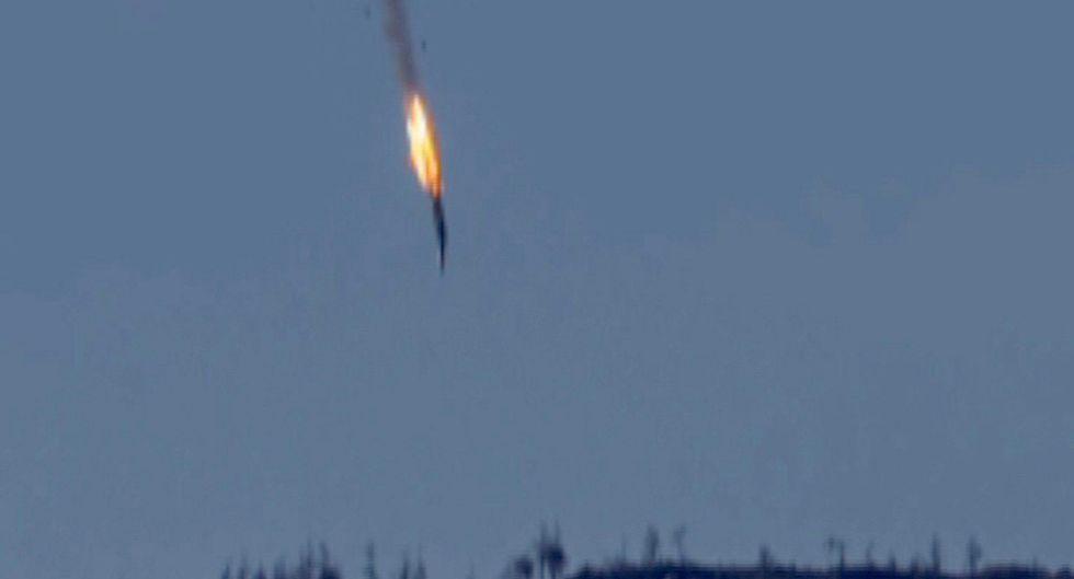 aereo russo abbattuto